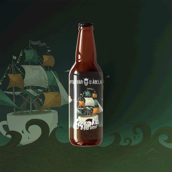 remeselné pivo, Cigorka, Irish Stout, craftbeer