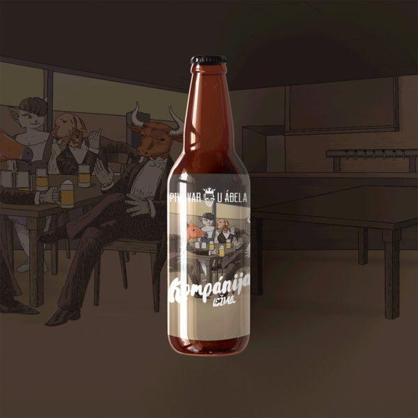 remeselné pivo, Kompánija, lager, ležiak, craftbeer