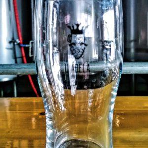 pivné sklo, irish stout, pohár na pivo